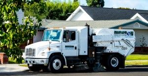 Street Sweeper in Rossmoor