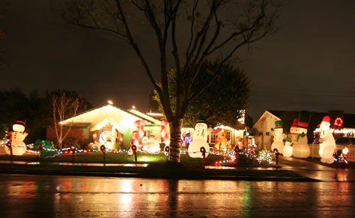 2015 Rossmoor Christmas Lights Celebration - Childhood Enchantment - 2762 Salmon Drive Rossmoor