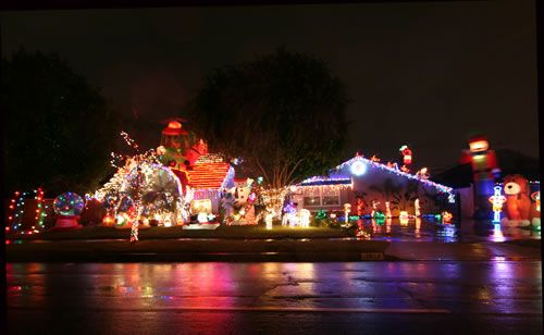 2015 Rossmoor Christmas Lights Celebration - Best Display Everything 2932 Bostonian