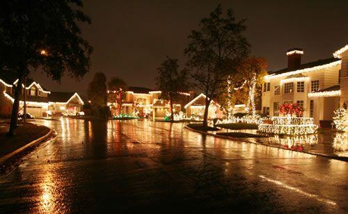 2015 Rossmoor Christmas Lights Celebration - Burney Place - Cul de Santa Award