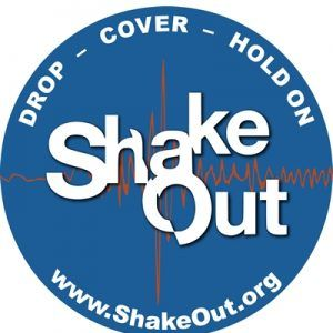 ShakeOut - Rossmoor gets prepared
