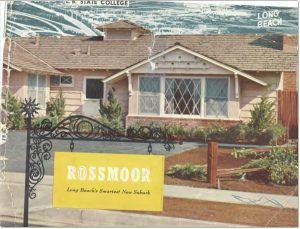 Rossmoor Historical Documents - Sales Brochure