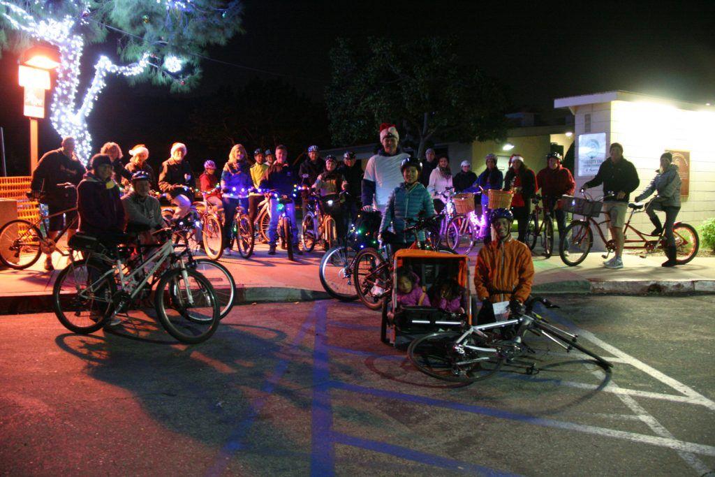 Join us on the Rossmoor Christmas Lights Bike Tour 2017