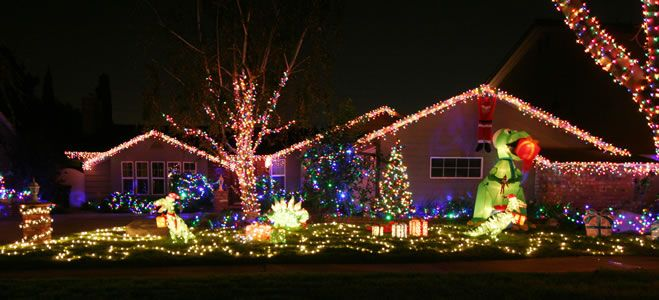 RHA Christmas Lights Winners 2014