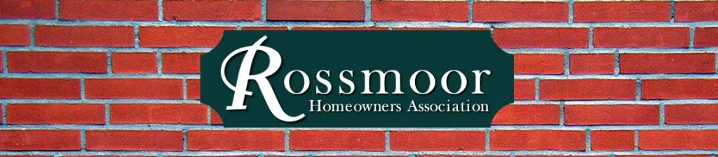 Rossmoor Homeowners Association - RHA