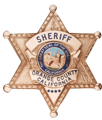 Orange County Sheriff Badge