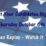 Rossmoor Meet Your Candidates Night - Video Replay