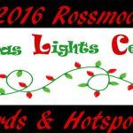 2016 Rossmoor Christmas Lights Celebration Awards & Hotspots