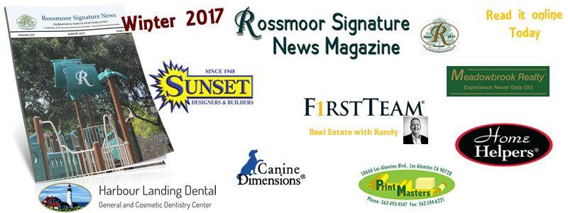 Rossmoor Signature News Magazine- Winter 2017