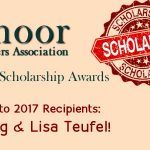 2017 Rossmoor Homeowners Association Scholarship Recipients