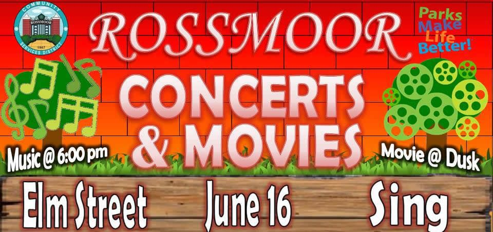 "Concerts and Movies in the Park are back this summer with a terrific line up. For June, Elm Street will play for your listening and dancing pleasure followed by the family film ""Sing."" The band starts at 6:00 p.m. followed by the movie at dusk. Come out and join us for one or both at Rush Park. Please bring your blankets and chairs, insect repellent and even a picnic dinner. These events are free and very popular with the neighborhood, so you may want to show up a bit early. Our next concert & movie event will be on Friday July 14th followed by the third installment on Friday August 18th. Plan to join in the fun!"