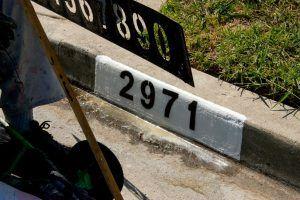 Rossmoor Curb Address Painting
