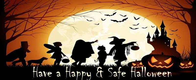 Rossmor Homeowners Assoication says be safe this Halloween