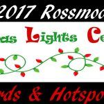 2017 Rossmoor Christmas Lights Awards & Hotspot Map