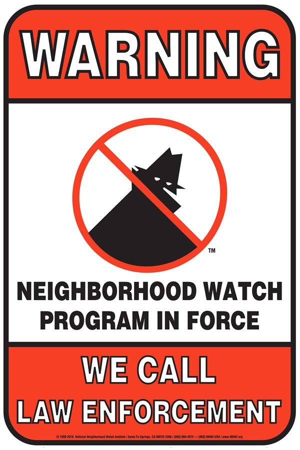 Rossmoor is a Neighborhood Watch Community - We call Law Enforcement - 714.647.7000