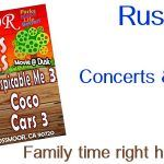 Rush Park Concerts & Movies 2018