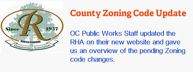 Updated Zoning Code Proposal