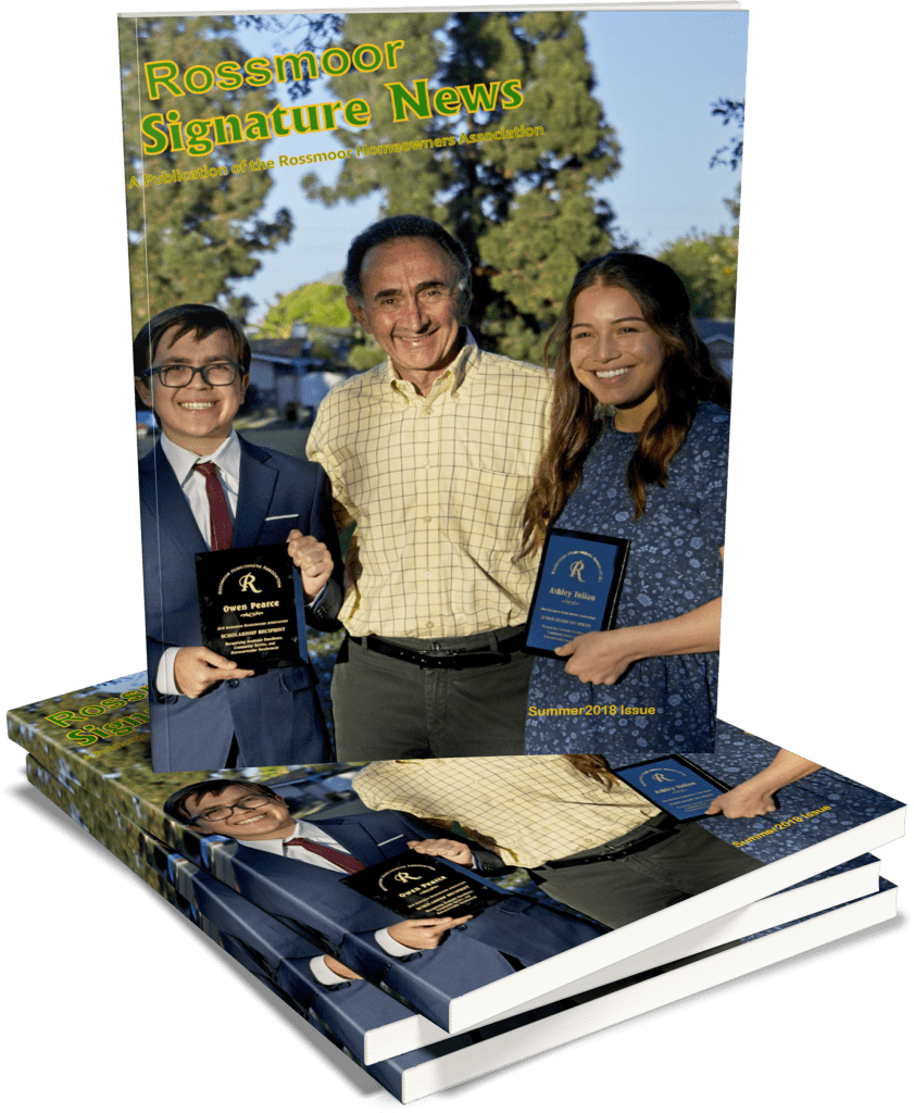 Rossmoor Signature News Magazine, Summer 2018 Issue