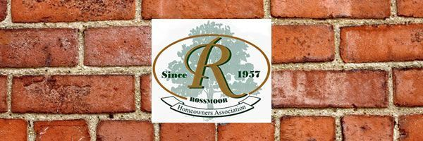 Our Rossmoor from the RHA – The Rossmoor Homeowners Association