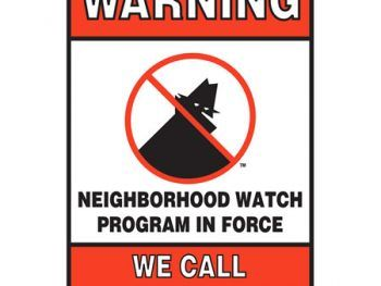 Rossmoor Neighborhood Watch - We Call Law Enforcement