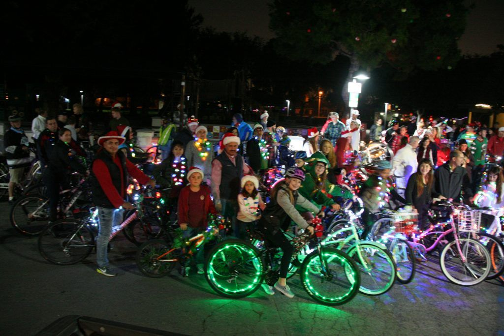 2018 Rossmoor Christmas Lights Bike Tour