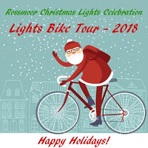 2018 Rossmoor Christmas Lights Celebration Bike Tour