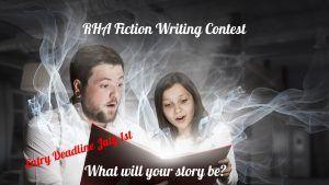 RHA Fiction Writing Contest - Deadline July 1st