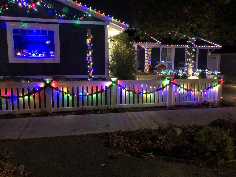 A Window To Christmas – The Rodriguez Family