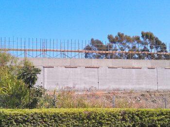 Freeway Sound Wall