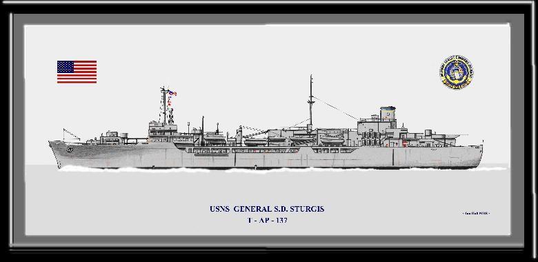 Displaced Person's Transport Vessel, General S.D. Sturgis