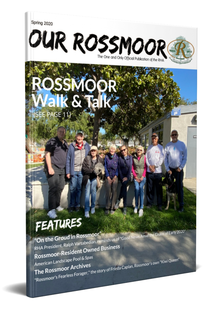 2020 April Our Rossmoor
