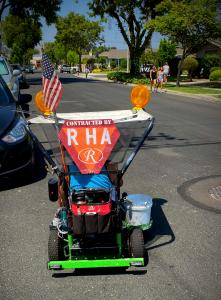 RHA Curb Address Painting Project - 2020