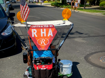 RHA Curb Address Painting Project - 2020
