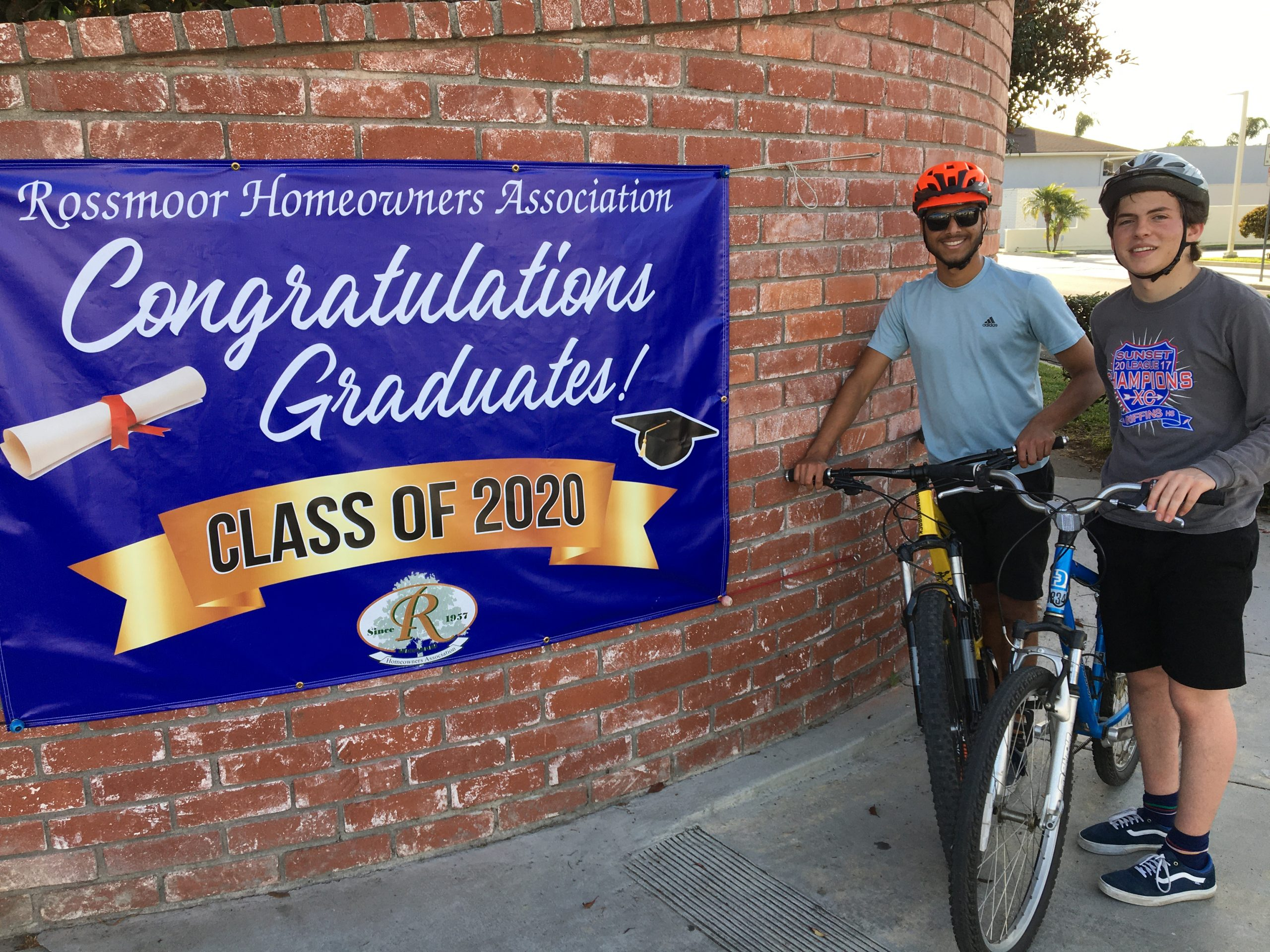 2020 Rossmoor Senior Graduation Celebration - Banner Photos