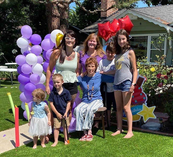 Verna Baccus & Family