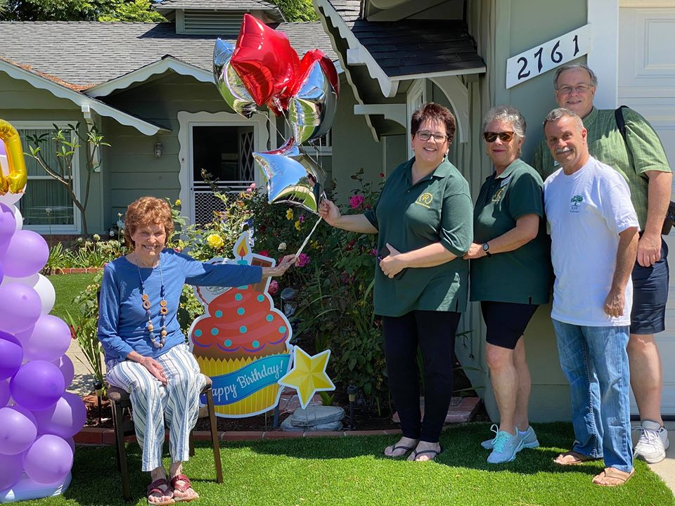 Verna Baccus & Our Rossmoor Special Events Team