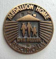 Rossmoor California All electric Medallion home marker