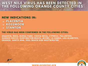 Rossmoor West Nile Virus Activity
