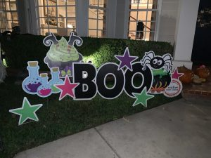 Hertzog Family You've Been Boo'd from Creative Yard Cards`