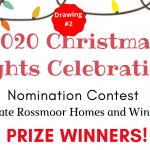 2020 Lights Drawing Winners