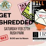 Our Rossmoor - Get Shredded February 27, 2021 Rush Park