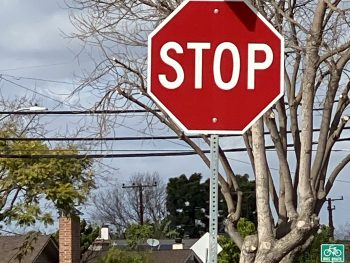 Bigger Stop Signs in Rossmoor