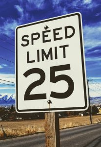 Rossmoor Speed Limit is 25 mph