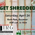 RHA Get Shredded April 24, 2021 Rush Park