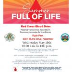 Rossmoor Red Cross Blood Drive