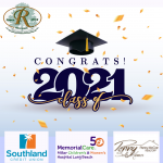 Class of 2021 Congrats from the Rossmoor
