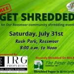 RHA Get Shredded July 31, 2021 Rush Park