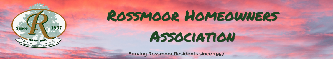 Rossmoor Homeowners Association, Rossmoor California
