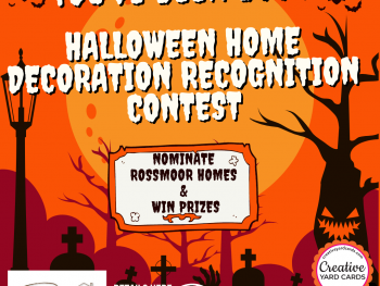 Our Rossmoor's 2021 You've Been Boo'd Nomination and Recognition contest