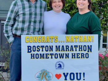 Nathan Searles Completes 125th Boston Marathon